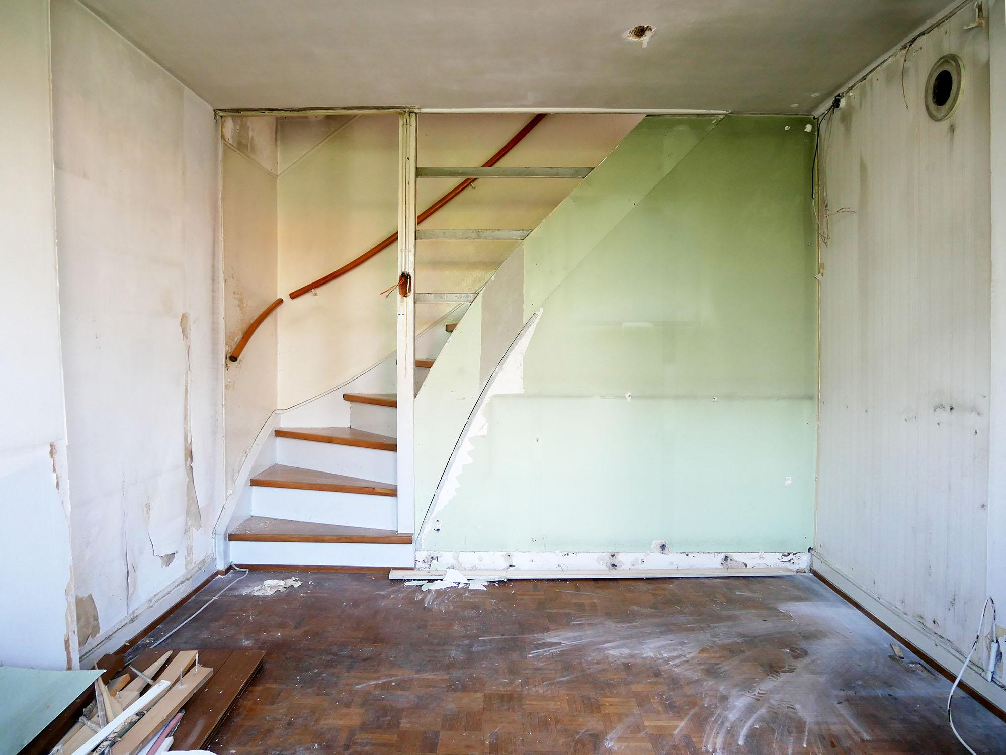 Wohnzimmer im Juni 2018